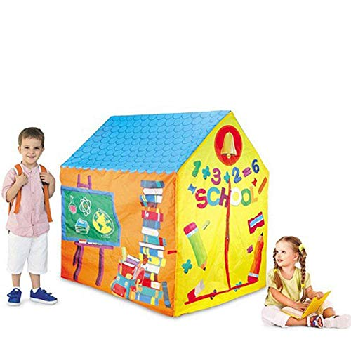 Zelt Für Kinder Kinderspielzeugzelt Prinzessin Haus Spielhaus Für Kinder Simuliertes Kinderzelt - Feuerwehr/Zoo/Wildhaus/Militärzelt -103x93x69cm