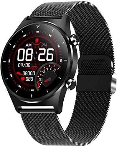 Smartwatch ritmo cardíaco oxígeno en sangre Bluetooth teléfono música cardiovascular reloj inteligente para mujeres y hombres-D