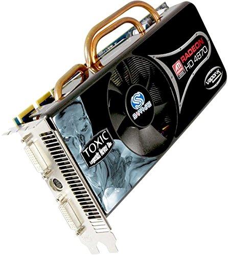 Sapphire ATI Radeon HD 4870 Toxic Grafikkarte (PCI-e, 1GB GDDR5 Speicher, DVI, HDMI, HDTV-Out, 1 GPU)