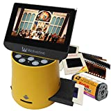 "Wolverine Titan 8-in-1 High Resolution Film to Digital Converter with 4.3"" Screen and HDMI Output (Yellow)"