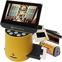 Wolverine Titan 8-in-1 High Resolution Film to Digital Converter with 4.3