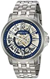 Kenneth Cole New York Men's Automatic Japanese-Quartz Watch with Stainless-Steel Strap, Silver, 22 (Model: KC50779008)