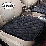 HCMAX Couverture de Siège de Voiture Coussin Tampon Tapis Protecteur pour Les Fournitures Automobiles pour Sedan Hatchback SUV - Paquet de 2 Housse de Siège Avant