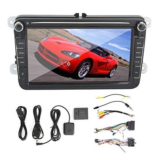 GPS automático, reproductor de radio estéreo automático de pantalla grande de navegación GPS para coche de 8 pulgadas para sistema Android compatible con Sharan