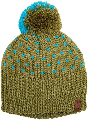 Nitro Snowboards Damen Mütze Party POM Hat 16, Moss, One Size