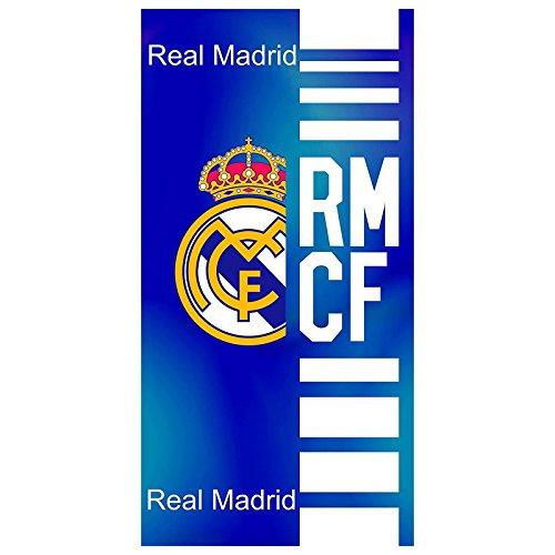 Real Madrid Toalla de Baño y Playa de Algodón con licencia Oficial. RM14