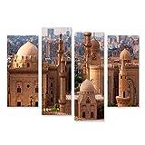 Bild Bilder auf Leinwand Kairo Skyline Ägypten Wandbild