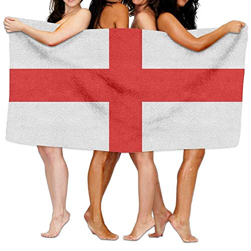 Toalla de playa unisex de Inglaterra, toalla de baño para adolescentes y adultos, toalla de viaje de 31 x 51 pulgadas