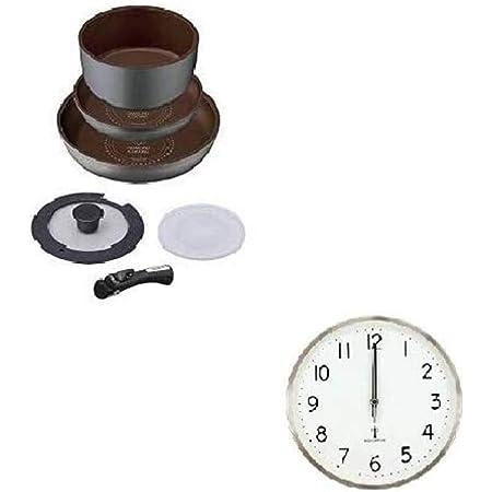 掛け時計付きセット (IH対応フライパン6点セット+掛け時計)