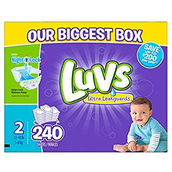 Luvs Ultra Leakguards Diapers Size 2 240 Count