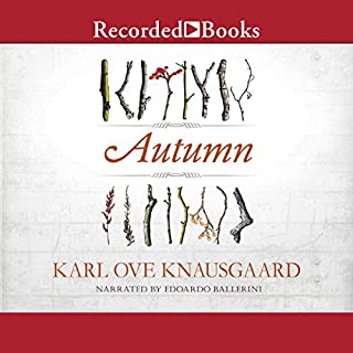 Autumn audiobook cover art