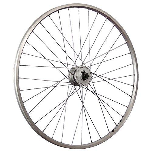 Taylor-Wheels 28 Zoll Vorderrad Laufrad Ryde Zac19 Shimano DH-C3000 Nabendynamo Silber