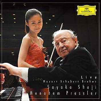 Mozart, Schubert, Brahms (Live In Tokyo & Kamakura / 2014)