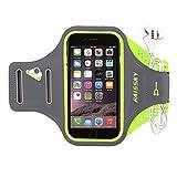 HAISSKY Sport Armband für iPhone XS Max/XS/XR/X/8 Plus/7 Plus,Universell Handyhülle mit Schlüsselhalter Perfekt für Laufen Wandern Jogging, Kompatibel mit Samsung Galaxy S8/S8 Plus/S7/S7 Edge bis 6.2