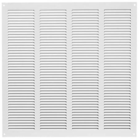 Brinox B70570D Rejilla de ventilación, Lacado Blanco, 30 x 30 ...