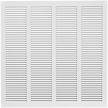 Rejilla de ventilación (400 x 400 mm), color blanco