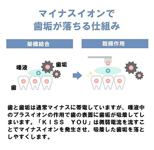 Ionic(アイオニック)『キスユーイオン音波電動歯ブラシ』