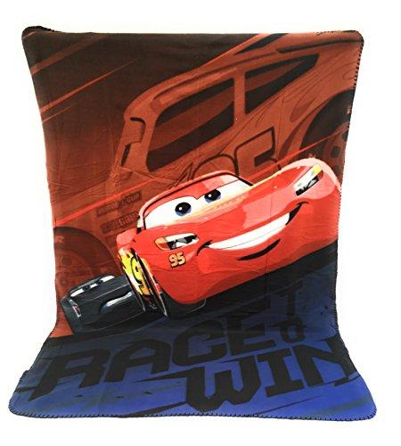 Couverture Polaire - Plaid Polaire Enfant - 140x100 cm - Sublimation Double Face - 170 GR/m2 - Cars - Disney - Flash MC Queen