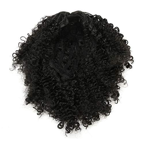Curly Wavy Wigs for Women, Wig Cap with Rose-shaped Mesh, Synthetic Hair Wigs with, Women's Charming Wig with Natural Effect