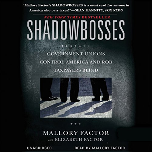 Shadowbosses audiobook cover art