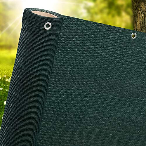 1m,1.5m, 2m wide privacy netting garden screening windbreak fencing 95 percent shade fence net green 1m x 5m