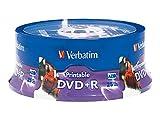 Verbatim DVD+R 4.7GB 16X 4,7 GB 25 Pieza(s) - DVD+RW vírgenes (4,7 GB, DVD+R, 25 Pieza(s), 16x)