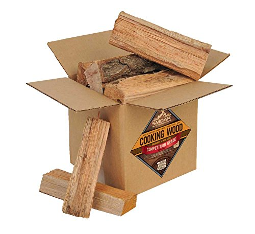Smoak Firewood Cooking Wood Logs - USDA Certified Kiln Dried (Red Oak, 08in Pieces (08-10lbs))