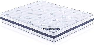 MATTREX | Colchón Reversible Viscoelástico Air Fresh | Air Fresh | 4 cm Visco | Reversible | Ergonómico | Confortable | Altura 23 cm | Transpirable | Anti Acaros | Ecológico (150_x_190_cm)