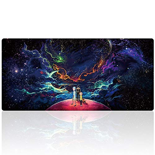 Bimor Extended Gaming Mouse Mat / Pad - Large, Wide (Long) Custom Professional Mousepad, Stitched...