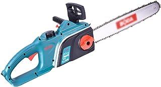 VIY Motosierra con Cable, Motosierra eléctrica de 16 Pulgadas, Motosierra de Mano eléctrica con Motor sin escobillas, para Trabajos de jardín de construcción