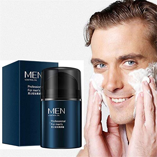 Clean Up Men'S BB Cream Rivitalizzante Nutriente Tonificante Idratante Viso, BB Cream Avanzato Tone-Up Enhancer, Crema Viso Istantanea per Schiarire la Pelle Nascondendo i Pori (1 pezzi)