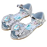 LCXYYY Zapatos de Lentejuelas de Niña Zapatos de Elsa de Princesa Zapatos de Fiesta de Niños Niña Infantil de Disfraz Sandalias para Cumpleaños Fiesta Cosplay Carnaval EU22-36