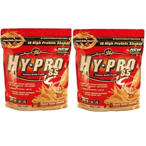 All Stars Hy-Pro 85 Protein Whey+ EGG Deluxe ( 2 x 500g = 1000g ), Ananas-Kokos