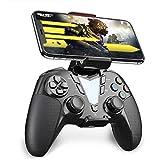 IFYOO PS4 Bluetooth 無線 コントローラー ワイヤレスゲームパッド 、PS4、SLIM、PROをサポートします。 MFiゲームパッドがiPhone、iPad、Mac OSをサポートします。PS4 Remote PlayAndroidスマホ、タブレット、テレビをサポートします - [銀黒]