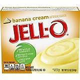 Jell-O Instant Pudding & Pie Filling, Banana Cream, 5.1 oz