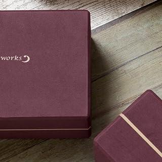 ヨガワークス(Yogaworks) ヨガブロックB バーガンディ YW-E412-C008