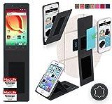 Hülle für Alcatel A50 Tasche Cover Case Bumper | Schwarz