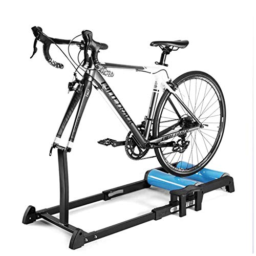Moto Trainer Soporte Indoor Cycling Trainer Rodillo Plegable Fijas De Entrenamiento Pie,...