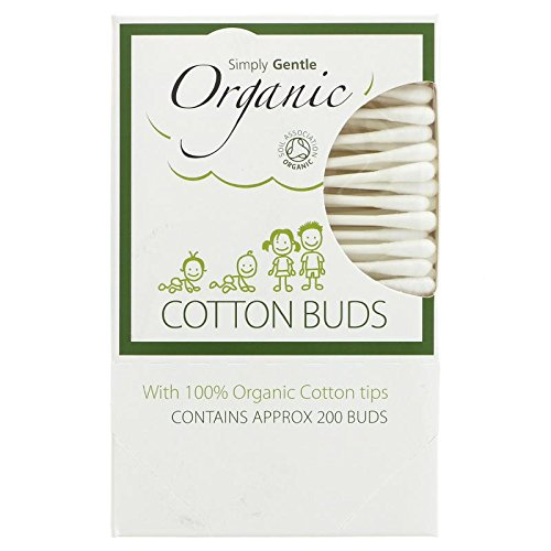 2 Packs of Simply Gentle Organic Cotton Buds - (2 * 200 Buds) by Macdonald & Taylor