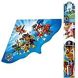 PAW PATROL Einleiner-Drachen 115 x 63 cm | Kinder Flug Drachen aus Folie