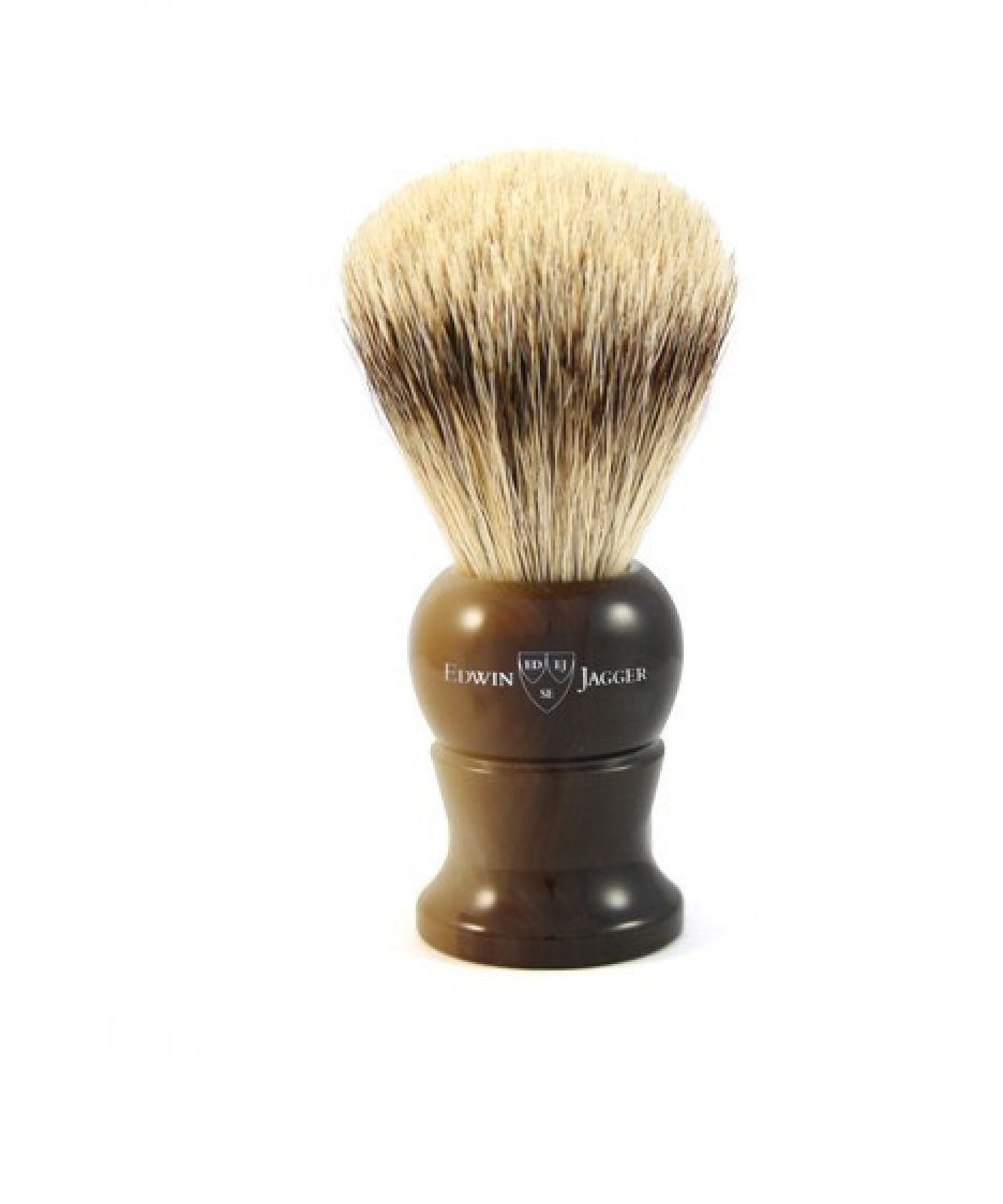 Edwin Finally popular brand Jagger Synthetic Super At the price Silver Brus Shaving Best Badger