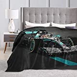 Peyolad Soft Flannel Couverture Soft Throw-Blankets for Kids Teenages Adults Bedroom Decor Lewis Hamilton Ultra Soft Micro Fleece Blanket 50X40inches