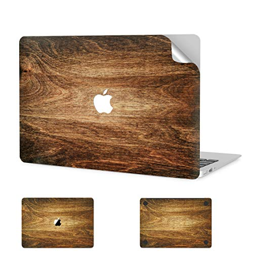 Digi-Tatoo MacBook Skin Decal Sticker Wrap for 2020 MacBook Pro 13 inch (Model A2338/A2289/A2251, 2020 Release) - Anti-Scratch, Easy Apply, Full Body Protective Vinyl Skin [Wood Texture2]