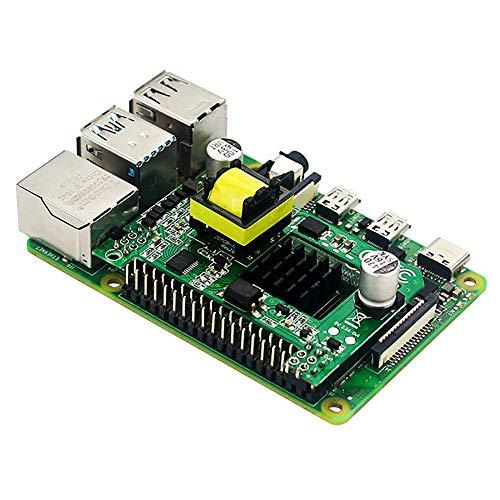 YDong für Raspberry Pi 4B POE Modul Power Over Ethernet IEEE 802.3Af Standard Switches POE Hut für Raspberry Pi 4 Modell B / 3B +