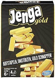 Hasbro Games B7430EU4Jenga Gold Children's Game