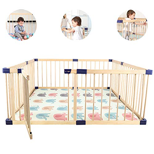 Check Out This LYXCM Children's Play Fence, Children's Activity Safety Center Indoor and Outdoor Fre...