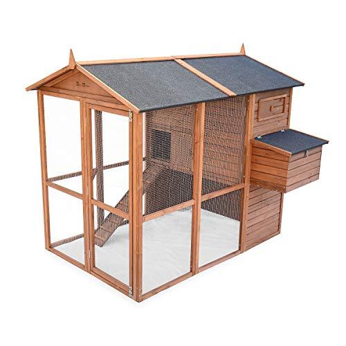 Alice's Garden - Gallinero de madera America, de 6 a 8 gallinas - America
