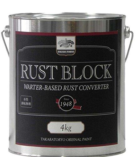 水性錆転換剤 タカラ ラストブロック 4kg タカラ塗料