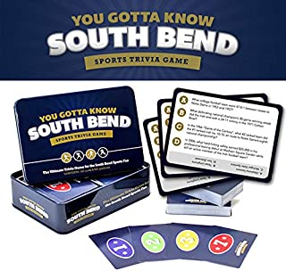 You Gotta Know South Bend - Sports Trivia Game