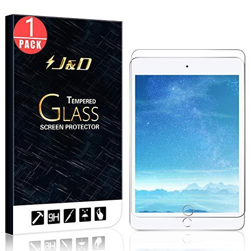 J&D Compatible para iPad Mini 5 Protector de Pantalla/iPad Mini 4 Protector...